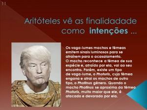 A aplicação das ideias de Aristóteles no ensino de Biologia!