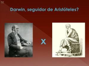 OU são dois sistemas absolutamente incompatíveis? Esta é a opinião de muitas pessoas e o palestrante se inclui entre elas. Portanto, cuidado com o finalismo aristotélico no ensino da Biologia!