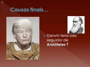 Mas, será mesmo que Darwin e Aritóteles têm ideias semelhantes?