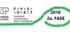 FUVEST 2018 – 2a. Fase